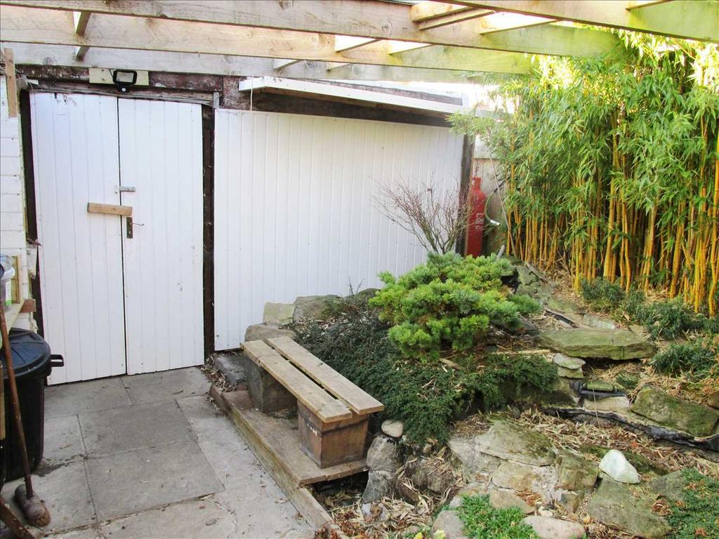 Showing entrance to outbuilding