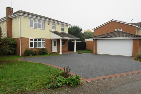 4 bedroom detached house for sale - Rosemoor Drive, East Hunsbury, Northampton, NN4