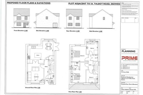 House for sale - Building Plot Adjacent to 24 Talbot Road, Neath SA10 6BR