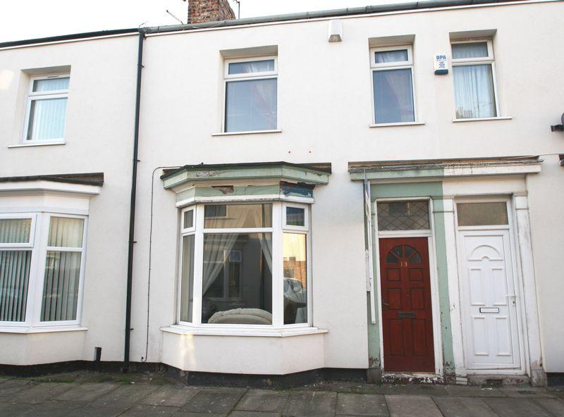2 Bedrooms Terraced House for sale in Craggs Street, Stockton, TS19 0BX