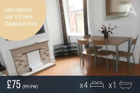 4 bedroom terraced house to rent - Lytham Road, Leicester