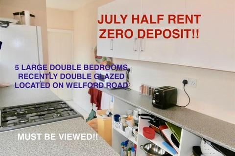 5 bedroom terraced house to rent - Welford Road, Leicester