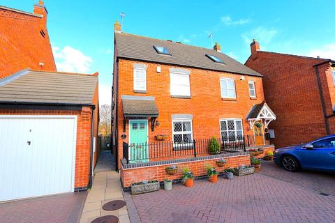 3 bedroom semi-detached house for sale - The Maltings, Glenfield