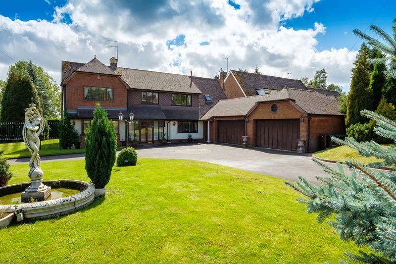 5 Bedrooms Detached House for sale in Perton Road, Wightwick