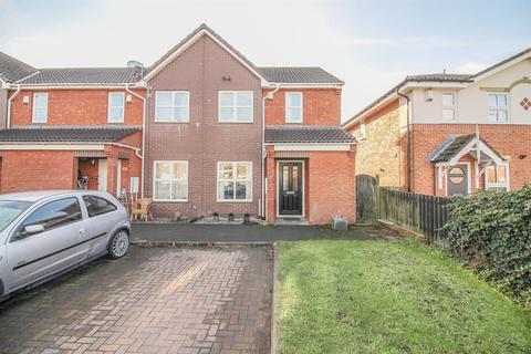 3 bedroom end of terrace house for sale - Big Waters Close, Newcastle Upon Tyne