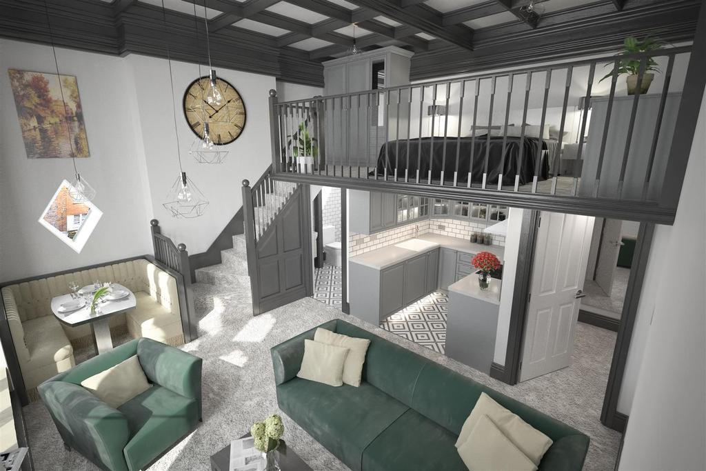 Interior Elevated