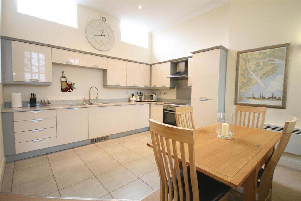 Open plan living dining/kitchen