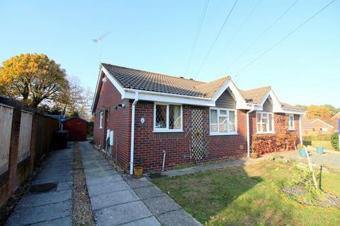2 bedroom semi-detached bungalow for sale - Bridle Close, Upton