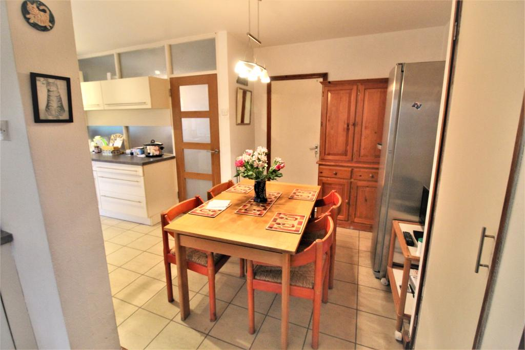 Dining Area Off Kitchen With Door To Garage / Cloakroom with WC