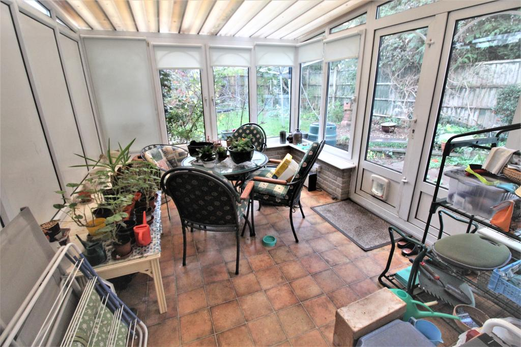 Conservatory With Doors To Rear Garden