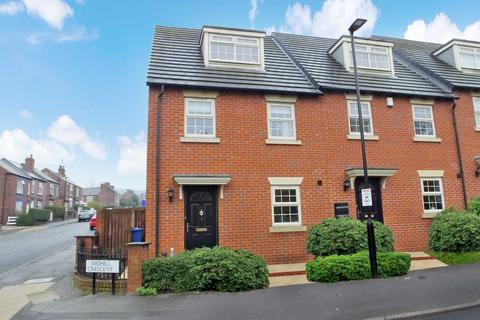 3 bedroom townhouse for sale - Midhill Crescent Heeley, Sheffield, S2 3BE