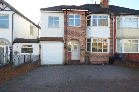 4 bedroom semi-detached house for sale - Weymoor Road, Harborne, Birmingham, B17 0RX
