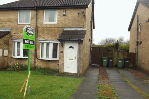 2 bedroom semi-detached house for sale - Hassop Way, Beaufront Park Estate, Bedlington