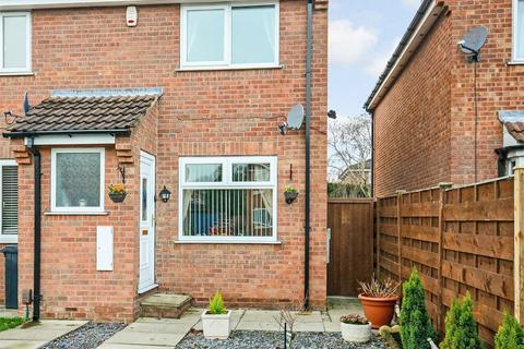 2 bedroom end of terrace house for sale - Hastings Close, Rawcliffe, YORK