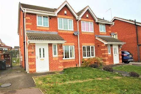 3 bedroom semi-detached house to rent - Pigeon Bridge Way, Aston, Sheffield, Rotherham, S26 2GX
