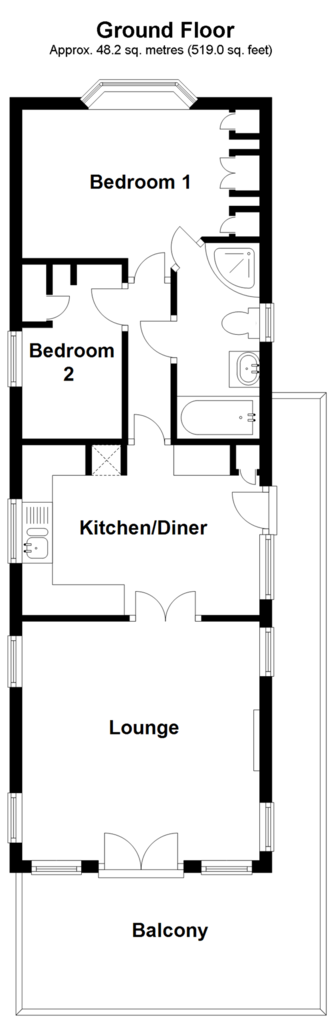 Floorplan: Ground Floor
