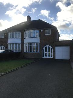 3 bedroom semi-detached house to rent - Chester Road, Kingshurst, Solihull, B36 0LG