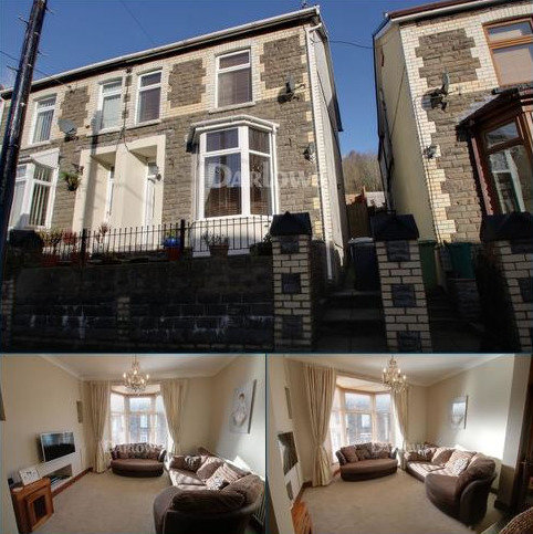 3 bedroom semi-detached house for sale - Greenfield Terrace, Abercynon