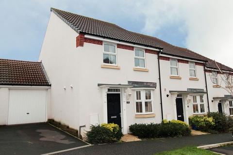 3 bedroom semi-detached house for sale - CULLOMPTON - MODERN HOUSE WITH GARAGE AND OFF STREET PARKING
