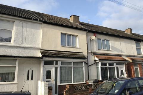3 Bedroom Terraced House To Rent   Owen Road, Wolverhampton