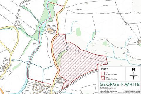 Land for sale - Land at Irthing House Farm, Gilsland, Brampton, Cumbria, CA8