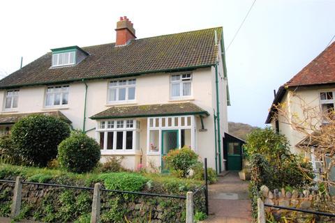 3 bedroom semi-detached house for sale - Doverhay, Porlock, Minehead, Somerset, TA24
