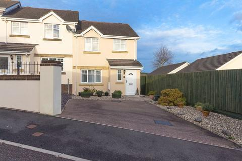 3 bedroom end of terrace house for sale - Chestnut Crescent, Chudleigh