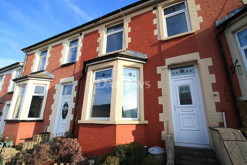 3 Bedrooms Terraced House for sale in Richmond Road, Sixbells, Abertillery, Gwent