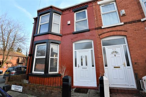 3 bedroom terraced house to rent - Claremont Road Liverpool L15 3HL