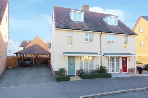 3 bedroom townhouse for sale - Sir Henry Brackenbury Road, Ashford, Kent, TN23 3FJ