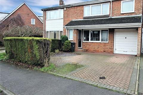 4 bedroom semi-detached house for sale - Edinburgh Drive, North Anston, Sheffield, Rotherham, S25 4HB