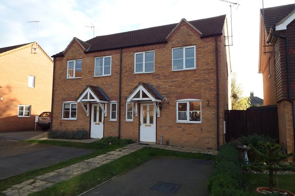2 Bedrooms Semi Detached House for sale in John Harrison Way, Holbeach, PE12