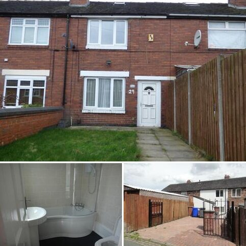 2 bedroom terraced house to rent - East Terrace, Chell Heath, Stoke on Trent, ST6 6QU