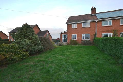 2 bedroom semi-detached house for sale - Hill Crest, Childs Ercall