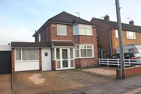 3 bedroom detached house for sale - Willow Park Drive, Wigston, Leicester