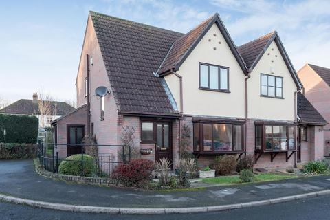 3 bedroom semi-detached house for sale - The Shrubberies, Cliffe, YO8 6PW