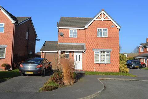 3 bedroom detached house for sale - Calow Drive, Leigh WN7 3DA