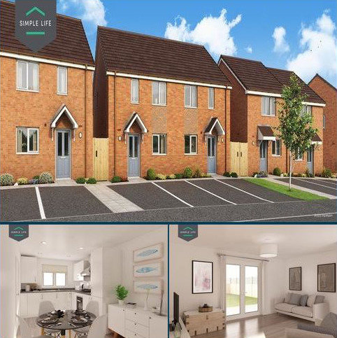 3 bedroom terraced house to rent - Spirit Walk, Coventry, CV2 1UY