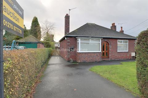 2 bedroom bungalow for sale - The Bank, Scholar Green