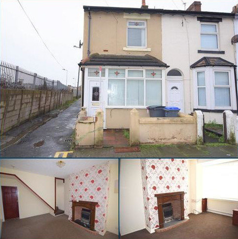 2 bedroom end of terrace house to rent - Wall Street, Blackpool