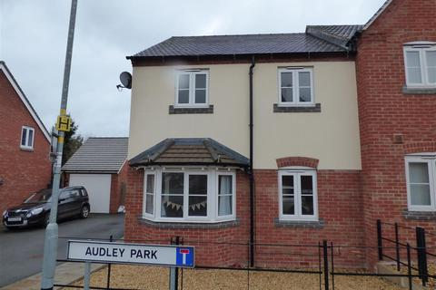 3 bedroom semi-detached house for sale - Audley Park, Newport