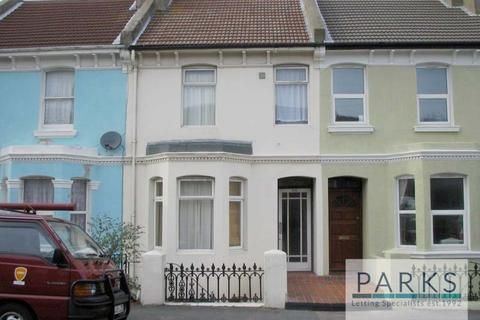 4 bedroom terraced house to rent - Queens Park Road, Brighton, BN2