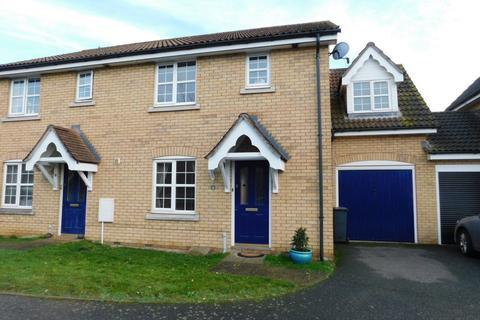 3 bedroom semi-detached house for sale - Blackbird Way, Stowmarket