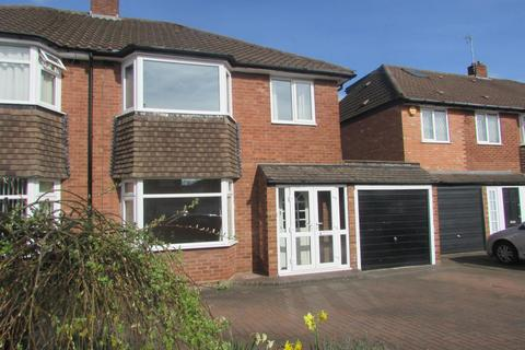 3 bedroom semi-detached house to rent - Rowlands Crescent, Solihull, B91 2JF