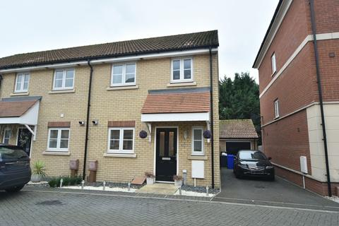 3 bedroom terraced house for sale - Bridge Farm Close, Mildenhall, Bury St. Edmunds