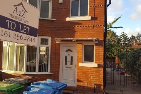 4 bedroom semi-detached house to rent - Brentbridge Road, Fallowfield, Manchester M14