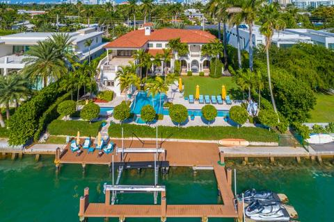 7 bedroom detached house  - Miami, Florida, United States