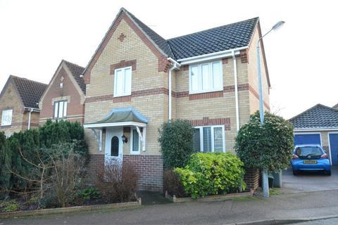 3 bedroom detached house for sale - Montrose Court, Dussindale, Norwich, Norfolk