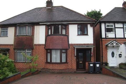 3 bedroom semi-detached house to rent - Woodleigh Avenue, Harborne, Birmingham, B17 0NJ