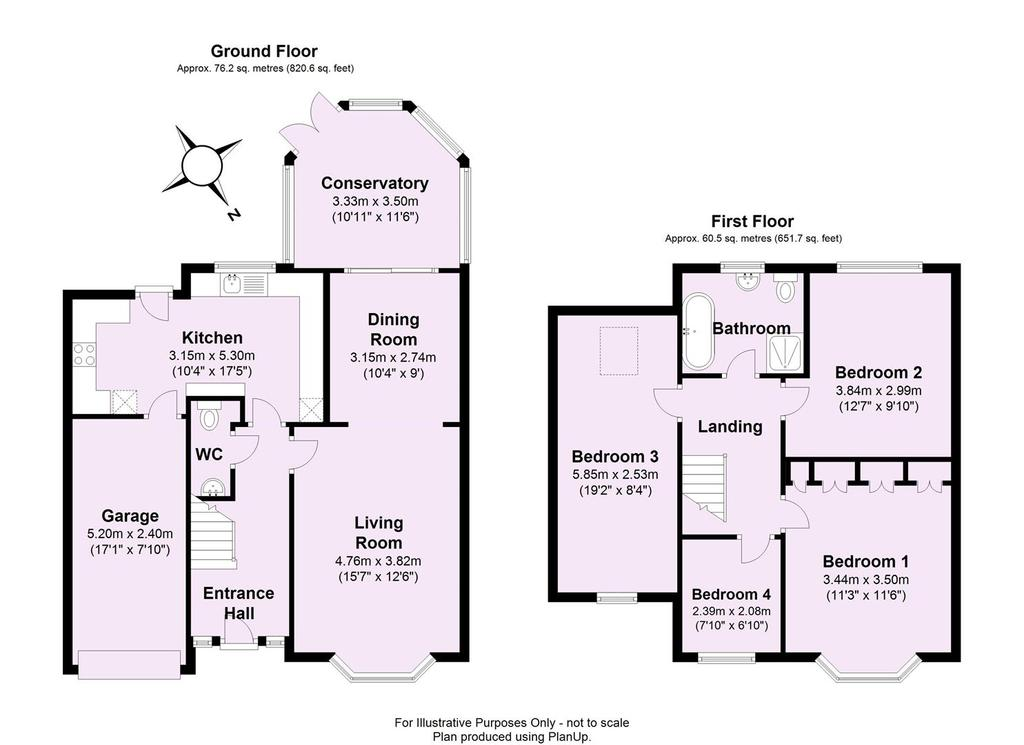 Floorplan 1 of 2: Rawcliffe Court, York 2 D